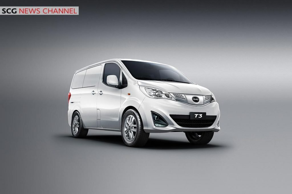 ตัวอย่างรถยนต์พลังงานไฟฟ้า BYD Auto Industry