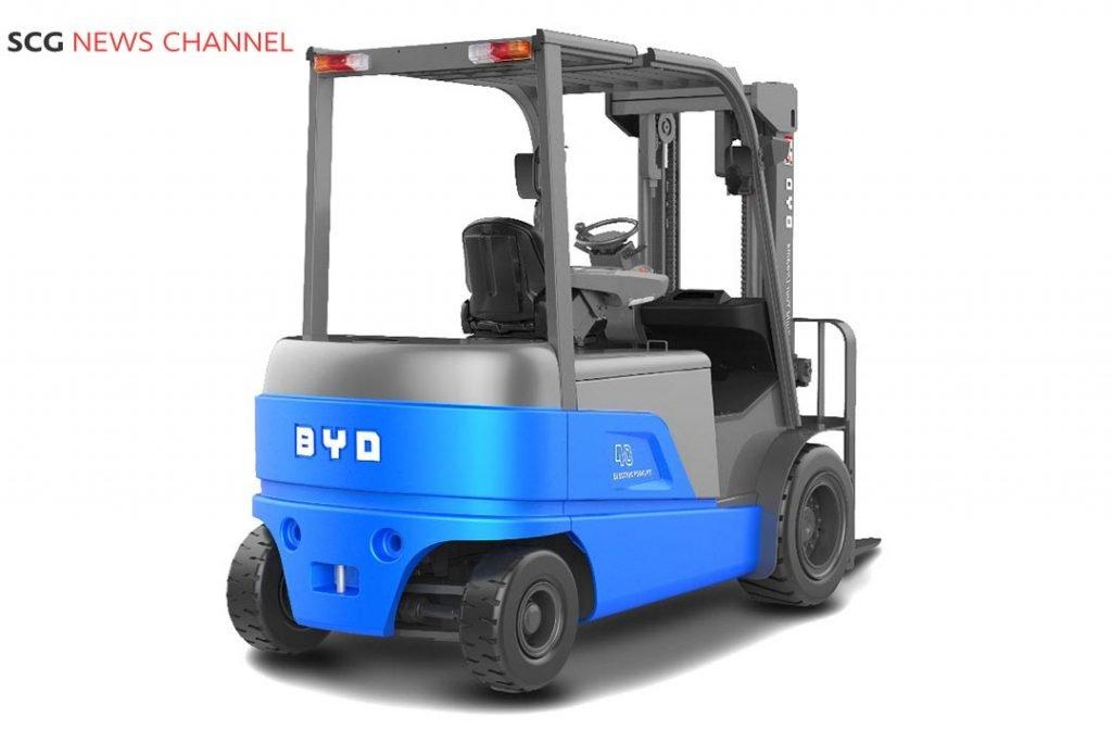 รถ Forklift พลังงานไฟฟ้า BYD Auto Industry
