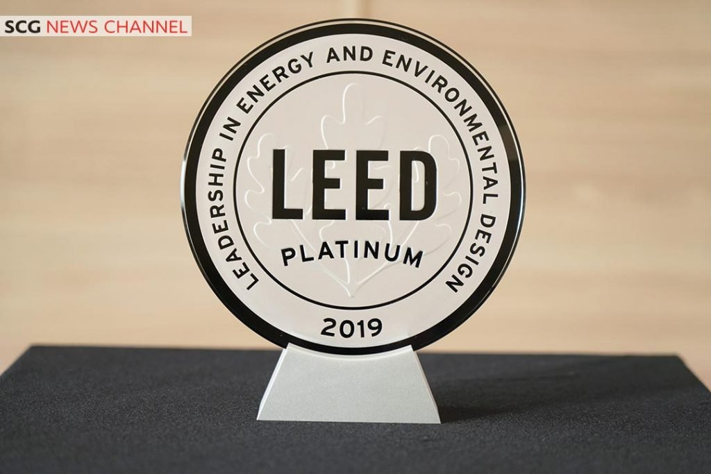 รางวัล LEED Platinum ในหมวด Commercial Interior Retail – Restaurant / Cafeteria