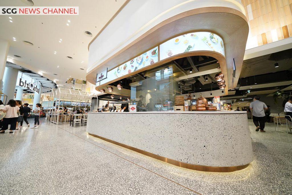 SCG Green Building Solution ร่วมออกแบบศูนย์อาหาร foodwOrld สู่ LEED Platinum