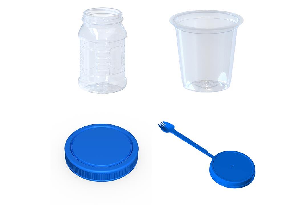 ตัวอย่างสินค้าที่ Visy Packaging (Thailand) ผลิต