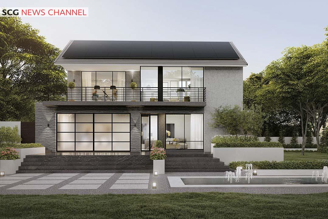 นวัตกรรมจากธุรกิจซีเมนต์และผลิตภัณฑ์ก่อสร้าง Solar Roof