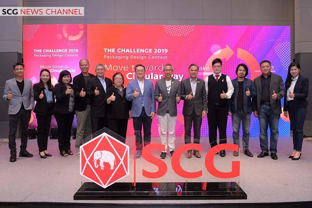 คณะกรรมการที่ร่วมตัดสินรอบชิงชนะเลิศ The Challenge Packaging Design contest 2019