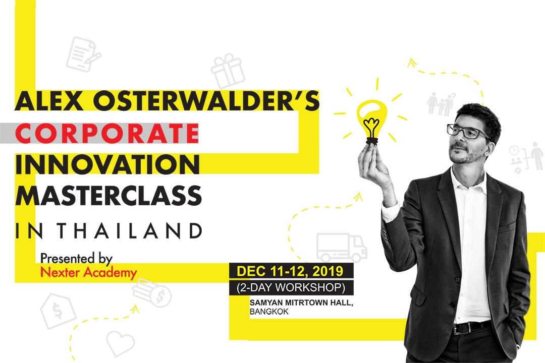"""Alex Osterwalder's Corporate Innovation Masterclass"""