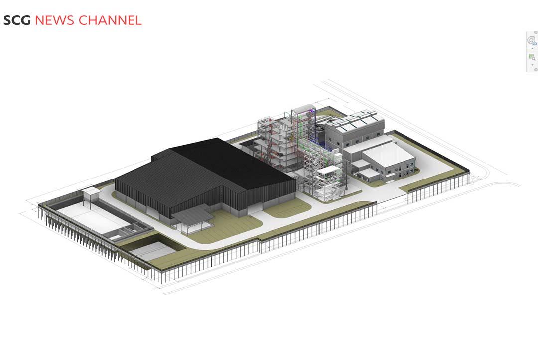 ตัวอย่างการใช้เทคโนโลยี BIM ออกแบบสิ่งก่อสร้าง