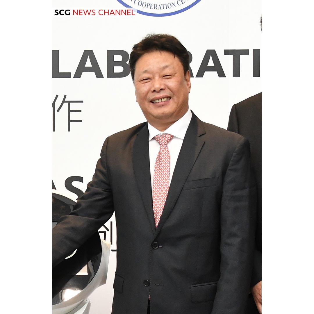 ดร.เจียง เปียว ผู้อำนวยการสำนักงานนวัตกรรมและความร่วมมือ (กรุงเทพ) สถาบันบัณฑิตวิทยาศาสตร์จีน