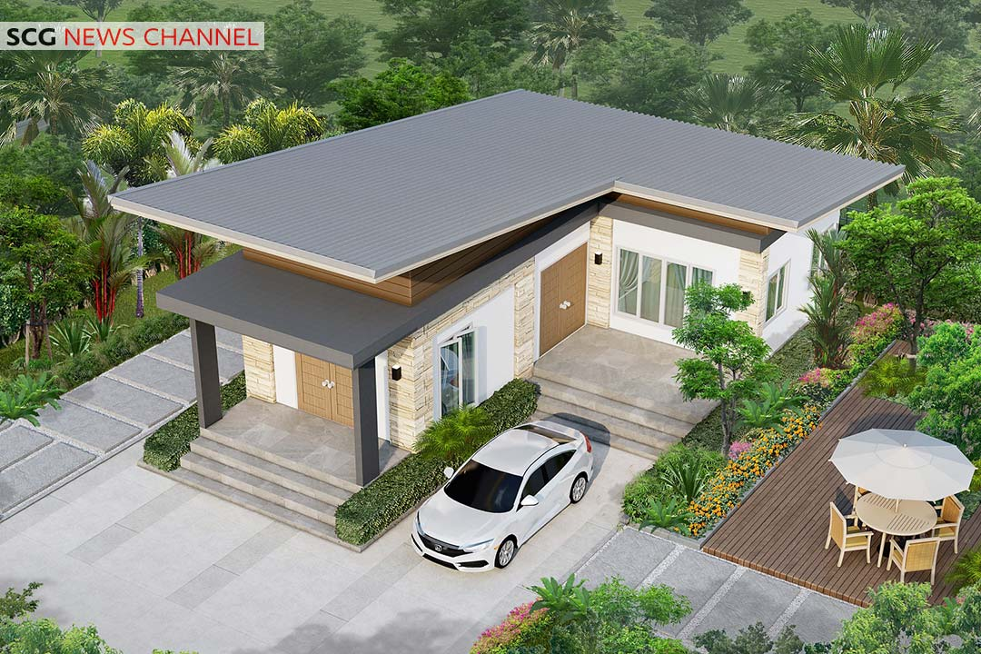 SCG Lean-to Roof System รุ่น Prolon